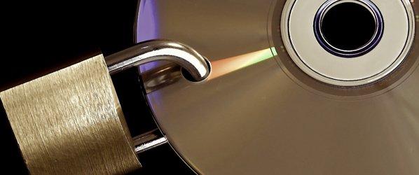 CD mit Schloß