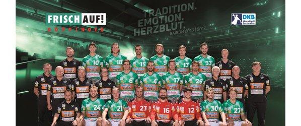 FrischAuf! Göppingen Mannschaftsfoto 2016/2017