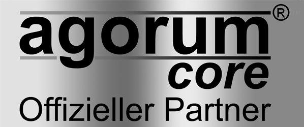 agorum core - Offizieller Partner Logo