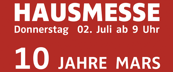 Hausmesse 2015 Flyer
