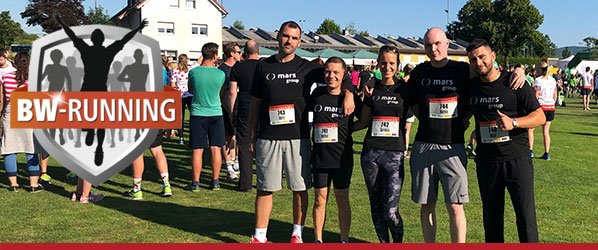 AOK Firmenlauf 2019 - mars group am Start