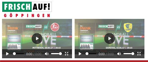 FRISCH AUF! Göppingen - Live Streaming