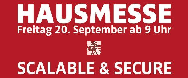 Hausmesse 2013 Flyer