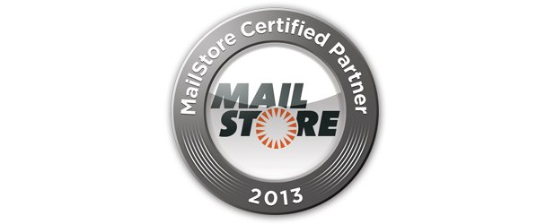 MailStore Certified Partner 2013 Rezertifizierung