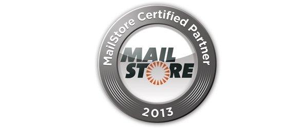 MailStore Certified Partner 2013 Logo