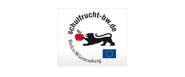 Schulfrucht Baden-Württemberg Logo