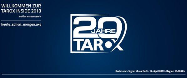 TAROX Inside 2013 / 2
