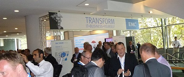 EMC² Forum 2012 in Frankfurt