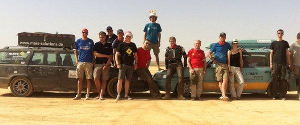 Das Team der Allgäu Orient Rallye 2015