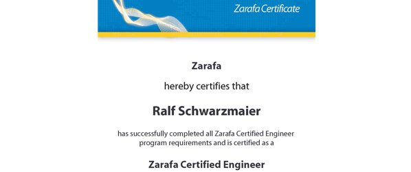 Zarafa Certified Engineer