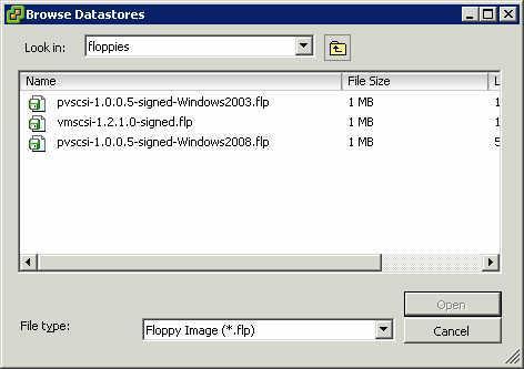 VMware Eigenschaftsmenü 5