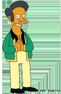 """Apu aus der Serie """"Die Simpsons"""""""