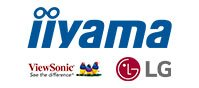 Iiyama, Viewsonic und LG Logo